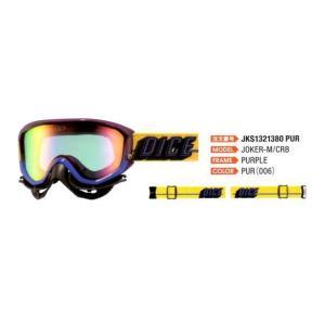 DICE ダイス スキーゴーグル JOKER ジョーカーM/CRB|proskiwebshop