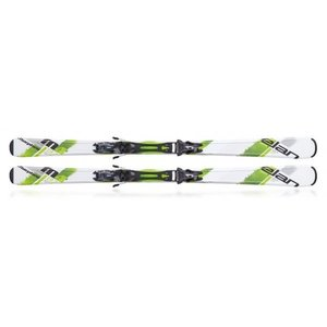 ELAN スキー板・金具セット MORPHEO 4 GREEN PLATE/EL 10.0 14-15 proskiwebshop
