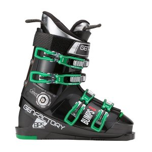 GEN スキーブーツ BUMPS 8 ブラック×グリーン 15-16 ゲン|proskiwebshop