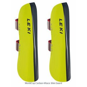 LEKI レガース SHIN GUARD CARBON 4RACE レキ 17-18|proskiwebshop
