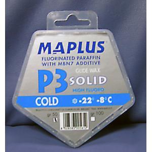 MAPLUS マプラス P3 SOLID WAX レース用 固形ワックス|proskiwebshop
