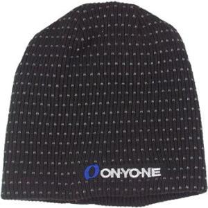 ONYONE オンヨネ ニット帽 リバーシブル ブラック|proskiwebshop