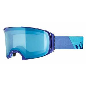 UVEX / ウベックス craxx OTG LTM 眼鏡対応スキーゴーグル  インディゴマット|proskiwebshop