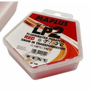 BRIKO MAPLUS LP2 SOLID スキーワックス RED/ブリコ マプラス 100g|proskiwebshop