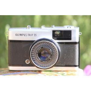 中古 保証付 送料無料 OLYMPUS TRIP 35 フィルムカメラ olympus pen 中古 フィルムカメラ olympus フィルムカメラ フィルム カメラ フィルム
