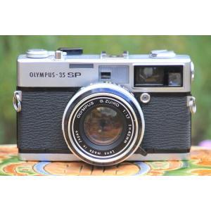 中古 保証付 送料無料 OLYMPUS 35SP レンジファインダー フィルム カメラ フィルム フ...