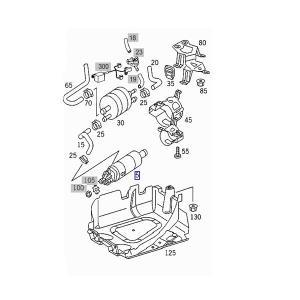 ベンツ W220 W215 R230 燃料ポンプ フューエルポンプ コネクタータイプ 10014701294 S320 S350 S430 S500 S55AMG S600 CL500 CL600 SL350 SL500 SL550|protechauto|02
