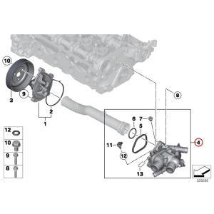BMW MINI R56 R55 R57 R58 R59 R60 ミニ サーモスタット/サーモスタッド 11537534521 ワン1.6 クーパー クーパーS クーパーS_JCW|protechauto|03