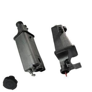 BMW E46 X3 E83 X5 E53 ラジエーターサブタンク/エクスパンションタンク センサー&クリップ&キャップ付 17117573781 17111742231|protechauto