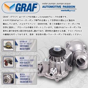 [6ヶ月保証] GRAF製 BMW 5シリーズ E34 ウォーターポンプ M50 M52 M54 直6エンジン Oリング付き 11517527910 11517509985 11517527799 PA432A 520i 525i protechauto 03