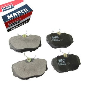 MAPCO BMW E30 Z1 フロントブレーキパッド 左右セット 低ダスト  34111157748 34111161347 6378 316i 318i 318is 320i|protechauto