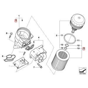 maXgear製 BMW E82 E87 E88 X1/E84 エンジンオイルフィルター/エンジンオイルエレメント 11427508969 11427501676 116i 118i 120i sDrive18i|protechauto|02