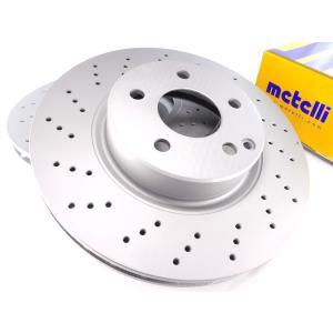 metelli製 ベンツ SLクラス R230 フロント ブレーキローター/ブレーキディスク 左右セット 防錆仕様 2304210412 23-1478FC SL350 SL500|protechauto