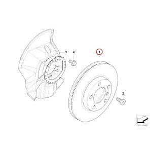 MEYLE製 BMW 3シリーズ E36 E46 フロントブレーキディスクローター プラチナム仕様 防錆 左右2枚 34116794301 34116855153 40406129 318i 320i 325i 328i protechauto 02