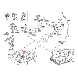 純正OEM Pierburg製 ベンツ W220 R230 W215 W463 S55AMG SL55AMG SL63AMG CL55AMG G55AMG 燃料ポンプ/フューエルポンプ 0014706594 0014704994|protechauto|03