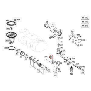 純正OEM Pierburg製 ベンツ W220 R230 W215 W463 S55AMG SL55AMG SL63AMG CL55AMG G55AMG 燃料ポンプ/フューエルポンプ 0014706594 0014704994|protechauto|04
