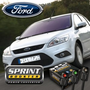 FORD フォード SPRINT BOOSTER スプリントブースター パワーモード 3パターン機能 切換スイッチ付 FOCUS MONDEO SBDD602A|protechauto