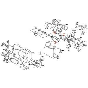 ベンツ W463 W201 燃料ポンプ2本&燃料フィルター 直径80mmタイプ 3点セット 0030915301 0020918801 0020915901 0024774401 0024771301 0024771701 300GE 190E|protechauto|02