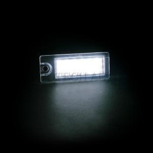 全国送料200円 VOLVO ボルボ V70 XC70 S60 S80 XC90 18連 LED ナンバー灯/ライセンスプレートランプ 左右 2個 9187153|protechauto|02