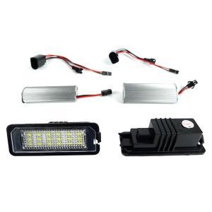 全国送料200円 VW Passart パサート(B7セダン) 18連 LEDライセンスランプ ナンバー灯 左右2個 一台分 キャンセラー付き 2009 -|protechauto|02