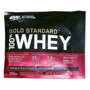 [NEW] [正規代理店] ゴールドスタンダード 100%ホエイ プロテイン ダブルリッチチョコレート味 1回分 Optimum Nutrition (オプティマムニュートリション)|proteinusa