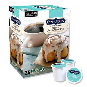 [NEW] キューリグ Kカップ クラシックシナモンロールコーヒー 24個入り 各0.33oz (約9.4g) Cinnabon (シナボン)|proteinusa