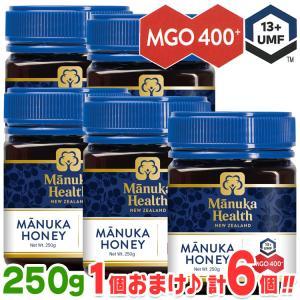 マヌカハニー MGO400+ [250g] ◆5個◆1個おまけ【あすつく】【送料無料】マヌカハニー ニュージーランド産 マヌカ蜂蜜 cosana コサナ|protesun