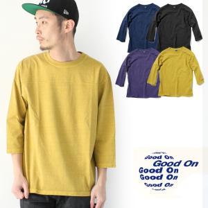 グッドオン ラグラン Tシャツ メンズ GOOD ON 日本製 七分袖 フットボールT / 送料無料|protocol