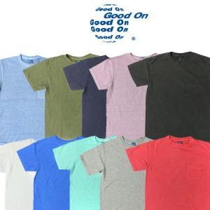 GOOD ON グッドオン S/S CREW POCKET TEE  ショートスリーブ クルーネック ポケット Tシャツ GOST0903 protocol