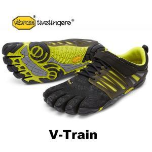 ビブラムファイブフィンガーズ メンズ VibramFiveFingers 5本指シューズ V-Train 17M6602 Black/Green|protocol