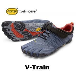 ビブラムファイブフィンガーズ メンズ VibramFiveFingers 5本指シューズ V-Train Grey|protocol