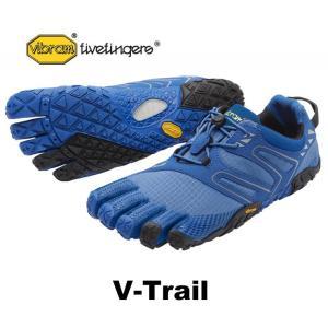 ビブラムファイブフィンガーズ メンズ VibramFiveFingers 5本指シューズ V-Trail Blue 17M6903|protocol