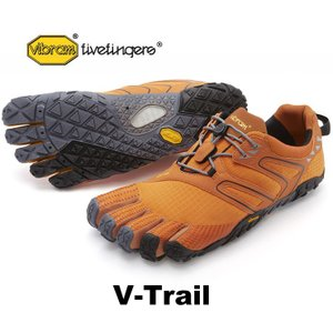 ビブラムファイブフィンガーズ メンズ VibramFiveFingers 5本指シューズ V-Trail Orange|protocol