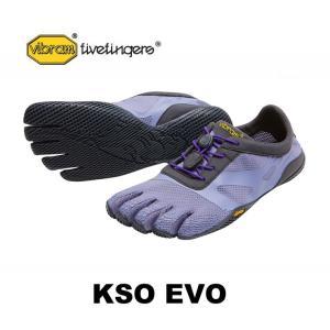 ランニングシューズ レディース おしゃれ 普段使用 vibram fivefingers ビブラムファイブフィンガーズ 5本指シューズ KSO EVO 17w0702 Fiery Lavender/Purple|protocol