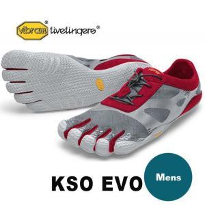 5本指シューズ メンズ ランニングシューズ メンズ ブランド VibramFiveFingers ビブラム KSO EVO メンズ 20M0702|protocol