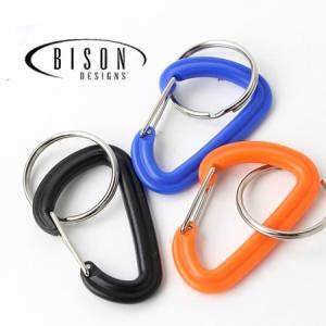BISON DESIGNS バイソンデザインズ PLASTIC 6センチメートル カラビナ|protocol