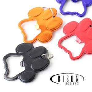 BISON DESIGNS バイソンデザインズ PAW PRINT OPENER オープナー/ 栓抜き アウトドア キーホルダー 肉球|protocol