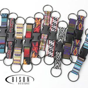 Bison Designs バイソンデザイン Quick Clip カラビナ/キーホルダー キーリング アウトドア カラフル|protocol