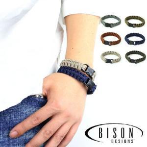 パラコード ブレスレット Bison Designs ブレスレット バイソンデザイン メンズ レディース|protocol