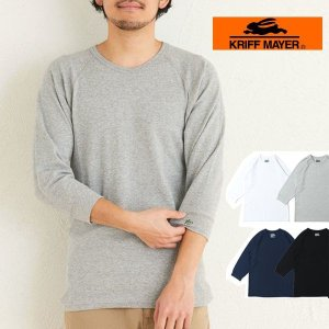 リフメイヤー MENS メンズ Tシャツ 5・7分袖Tシャツ ヘビーリップル 7分袖TEE protocol