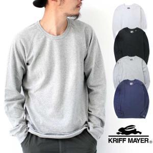 クリフメイヤー メンズ tシャツ 長袖 KRIFF MAYER ヘビーリップル クルー ロンTEE レディース protocol