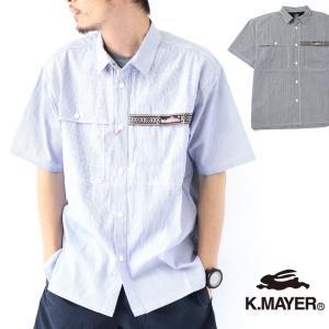 半袖シャツ メンズ クリフメイヤー KRIFF MAYER メッシュヨーク 半袖シャツ 1967400   キャンプ|protocol