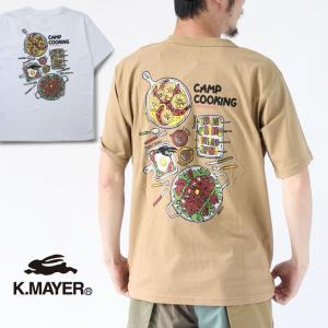 アウトドアブランド tシャツ クリフメイヤー tシャツ メンズ レディース  KRIFF MAYER 抗菌 半袖 Teeシャツ BBQ protocol