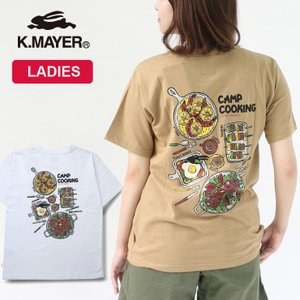 アウトドアブランド tシャツ クリフメイヤー tシャツ レディース  KRIFF MAYER 抗菌 半袖 Teeシャツ BBQ  キャンプ 服装 protocol
