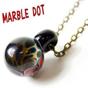 ドラゴンパイプ DragonPipe Marble Dot ペンダント ネックレス -ブラック-|protocol