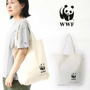 エコバッグ トート / WWF リサイクル コットン バッグ メンズ レディース エコバッグ 新作 人気 ブランド|protocol