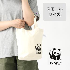 トートバック エコバッグ 小さめ WWF コットン トートバッグ ミニ 安い コンビニ 折りたたみ トートバッグ|protocol