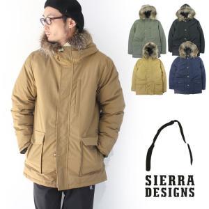 シエラデザイン ダウンジャケット メンズ SIERRA DESIGNS 60/40 ミドルレンジ ファー レディース 秋 冬 秋冬 ダウン アウター 20906369|protocol