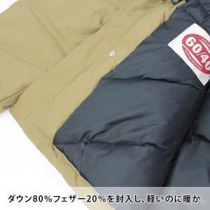 シエラデザイン ダウンジャケット メンズ SIERRA DESIGNS 60/40 ミドルレンジ ファー レディース 秋 冬 秋冬 ダウン アウター 20906369|protocol|10