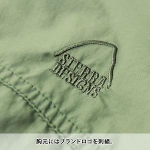 シェラデザイン マウンテンパーカー メンズ SIERRA DESIGNS クリンクル パッカブル ジャケット マウンテンパーカ アウター メンズ|protocol|07